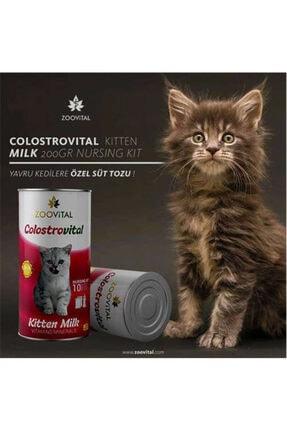 Zoovital Colostrovital Yavru Kedi Süt Tozu Ek Besin Takviyesi 200 gr 1