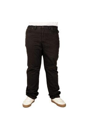 تصویر از Büyük Beden Erkek Gabardin Pantolon 21001 Kahve