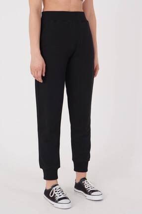 Addax Kadın Siyah Cep Detaylı Eşofman Eşf1077 - Dk2 ADX-0000023186 1