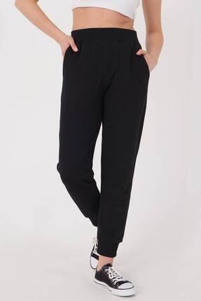 Addax Kadın Siyah Cep Detaylı Eşofman Eşf1077 - Dk2 ADX-0000023186 2