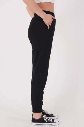 Addax Kadın Siyah Cep Detaylı Eşofman Eşf1077 - Dk2 ADX-0000023186 3