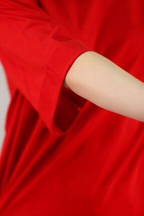 Lukas Süprem Salaş Tshirt Kırmızı - 2946.222. 1