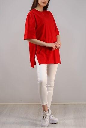 Lukas Süprem Salaş Tshirt Kırmızı - 2946.222. 2