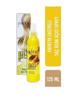 Pauline Doğal Saç Açıcı Sprey - Extra Blond 125 ml 0