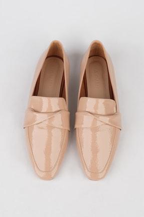 Marjin Kadın Bej Rugan Loafer Ayakkabı Rezva 2
