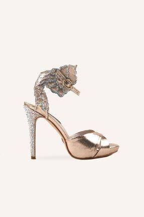 تصویر از Altın Liza Topuklu Ayakkabı