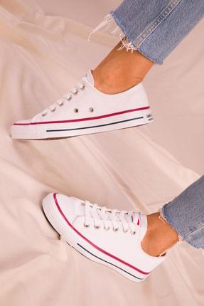 Soho Exclusive Beyaz Kadın Sneaker 15866 3