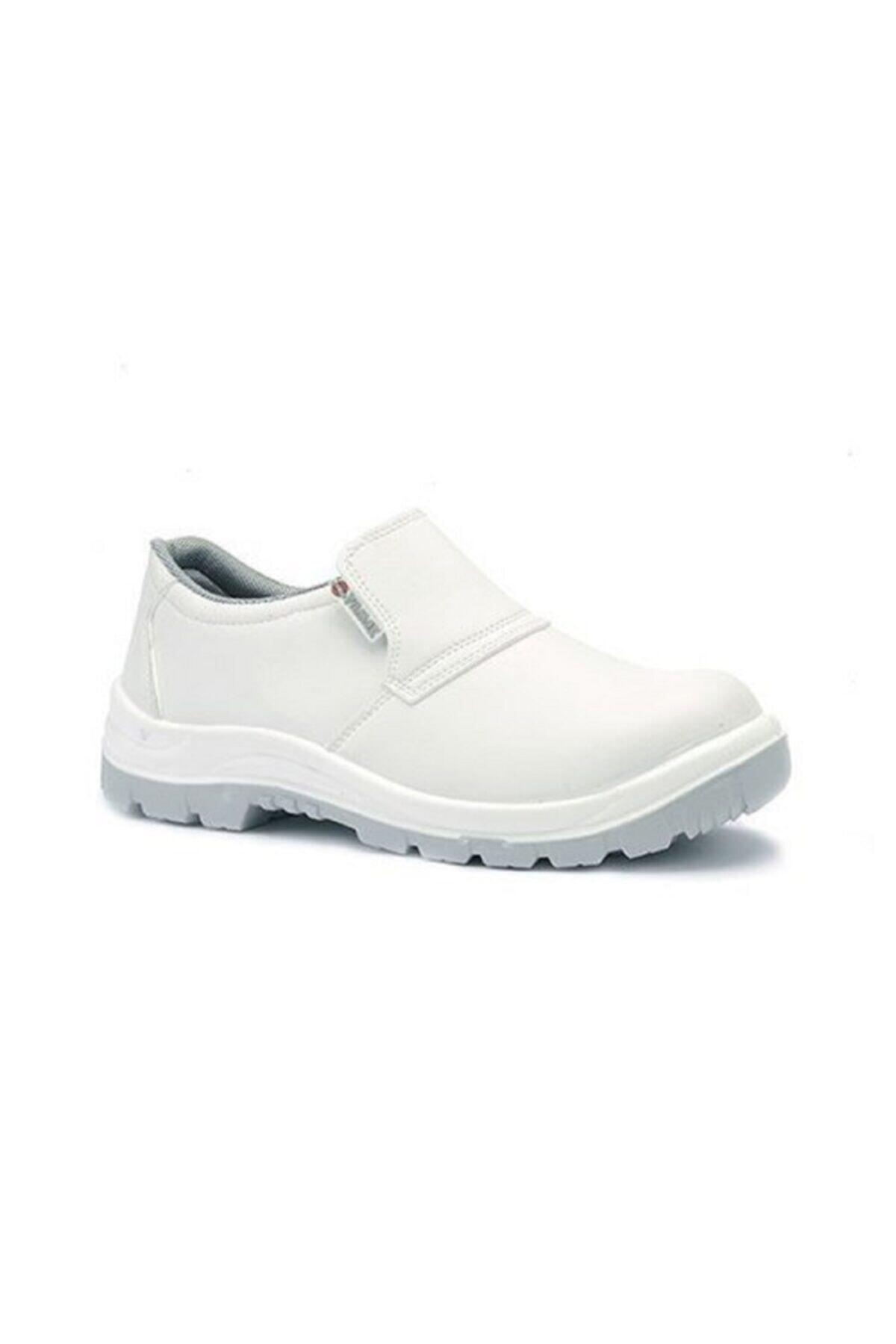 Beyaz Çelik Burunlu Iş Ayakkabısı