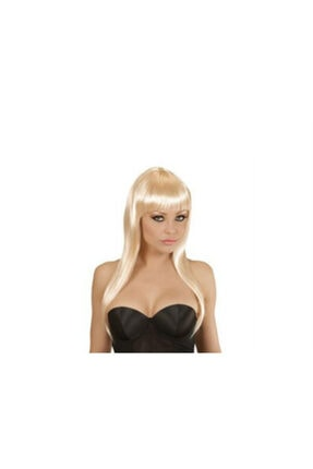 Uzun Peruk Saç - Altın Sarı KDB1453575819