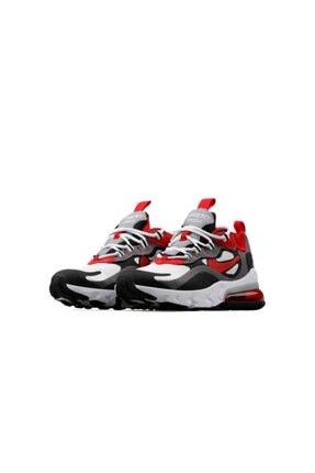 Nike Kadın Kırmızı Air Max 270 React Günlük Ayakkabı 1