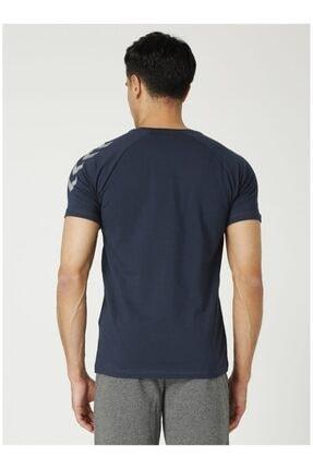 HUMMEL HMLPETTE T-SHIRT S/S Lacivert Erkek T-Shirt 101086319 3