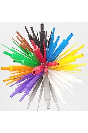 Çetin Iphone Uyumlu Şarj Kablosu Koruyucu Makaron 12 Adet 6 Cm 6 Farklı Renk 1