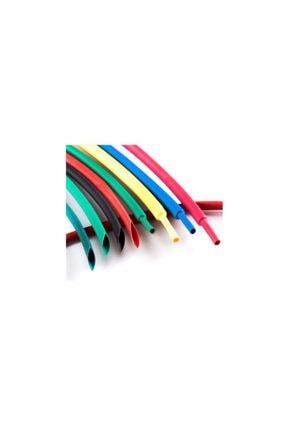 Çetin Iphone Uyumlu Şarj Kablosu Koruyucu Makaron 12 Adet 6 Cm 6 Farklı Renk 2