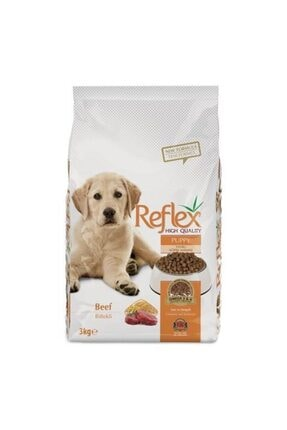 Reflex Biftekli Yavru Köpek Maması 3 kg 0