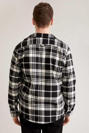 Defacto Regular Fit Uzun Kollu Gömlek Ceket 3