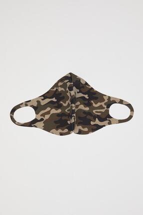 Defacto Kamuflaj Desenli Yıkanabilir Maske 2