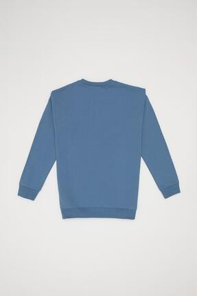 Defacto Unisex Baskılı Organik Sweatshirt 3