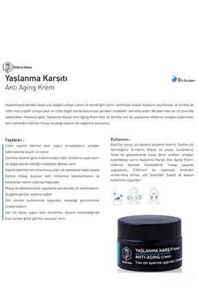 CHLORIS HOME Anti Aging Yaşlanma Karşıtı Krem (30ml) 2