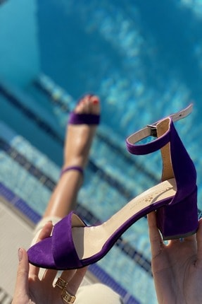 İnan Ayakkabı Baan Tek Bant Bilekli Topuklu Ayakkabı 2