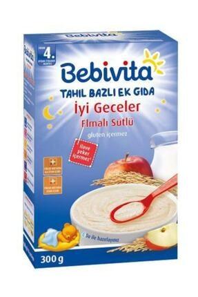 Bebivita Iyi Geceler Elmalı Sütlü Kaşık Maması 300 gr 0