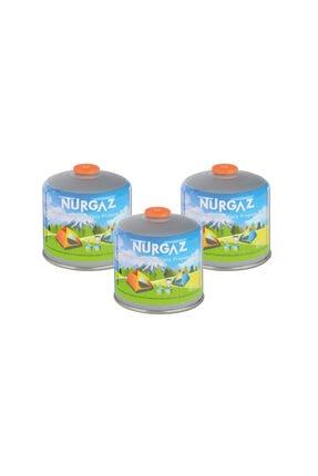 Nurgaz 450 Gr Vidalı Kartuş Multi Renk 3' Lü Set 9528194 0