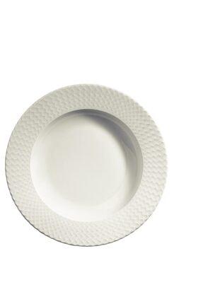 Kütahya Porselen Bone Iron 24 Parça Yemek Seti 4