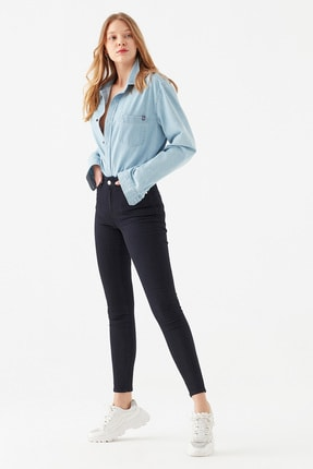 Mavi Kadın Tess Gold Lux Jean Pantolon 100328-32533 0