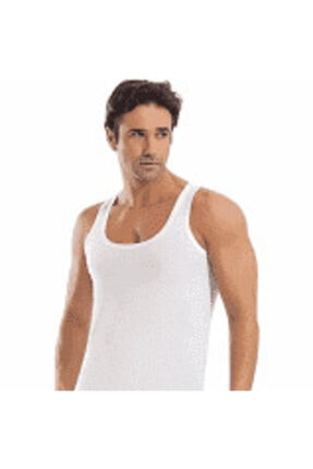 تصویر از 2'li Paket Orijinal %100 Pamuklu Erkek Atlet Kaliteli Sağlıklı Rahat
