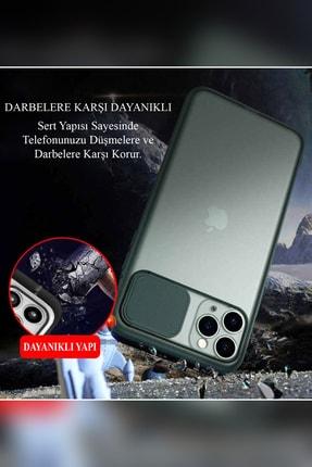 KZY İletişim Samsung Galaxy A71 Uyumlu Kapak Lensi Açılır Kapanır Kamera Korumalı Silikon Kılıf 4
