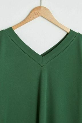 LC Waikiki Kadın Orta Yeşil Tunik 2