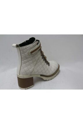 Cassido Kadın Beyaz Topuklu Bot 2