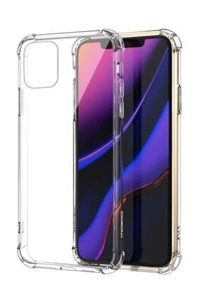 Soffy Şeffaf Iphone 11 Uyumlu Köşeleri Airbag Korumalı Shield Silikon Kapak Kılıf 1