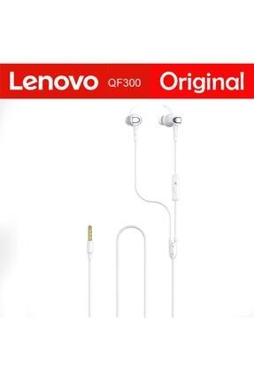 LENOVO Qf300 3,5mm Jack Kablolu Mikrofonlu Kulaklık 0