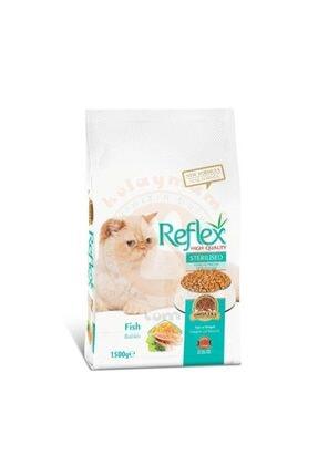 Reflex Sterilised Balıklı Kedi Maması 1,5 kg 0