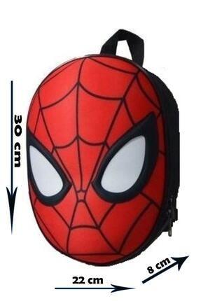 Spiderman 3d Kabartmalı Anaokulu Kreş Ve Günlük Kullanım Çantası Örümcek Adam Sırt Çantası 1