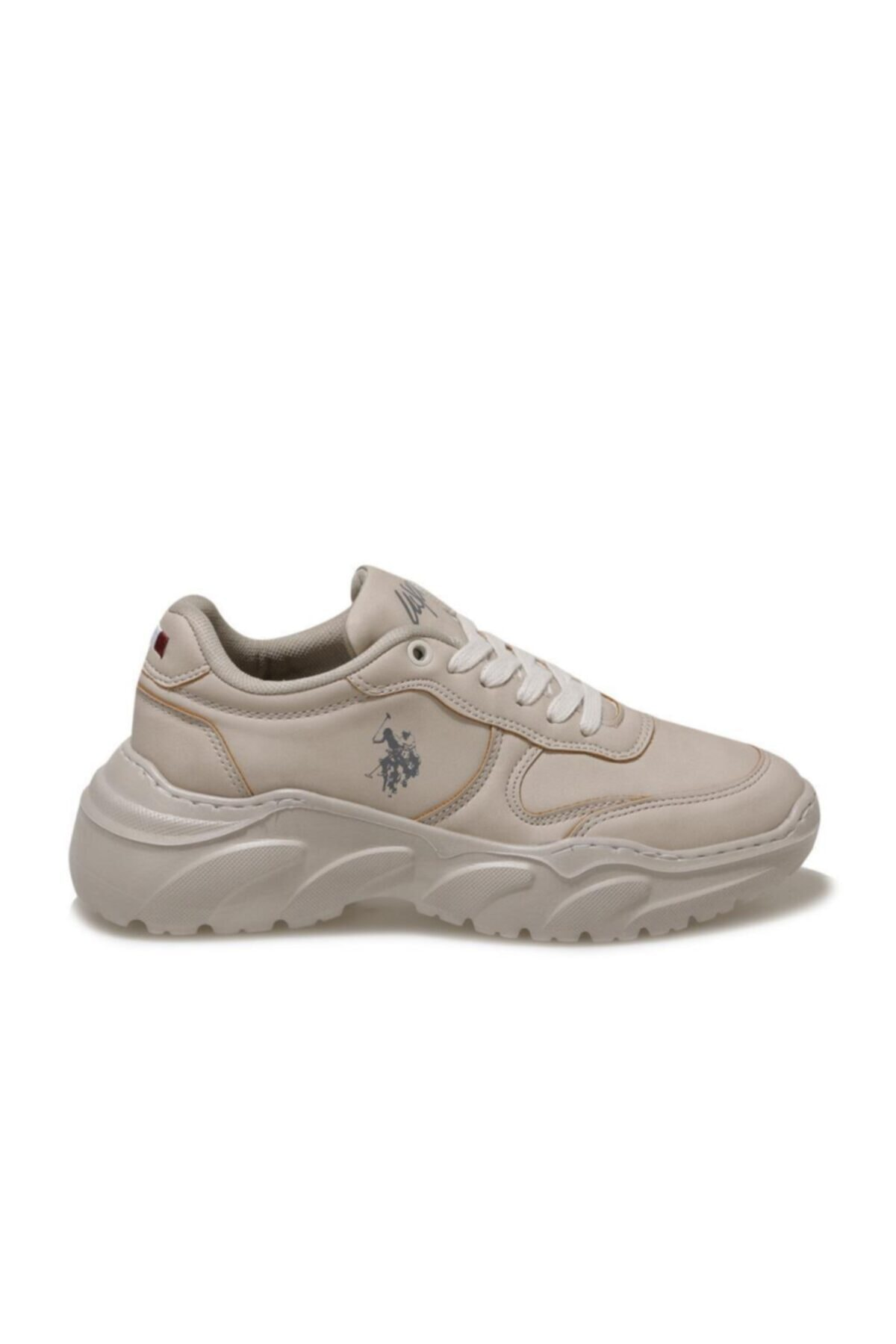Kadın Bej Lovely Comfort Casual Snekars Ayakkabı