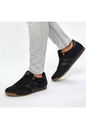 Kinetix Erkek Siyah Bağcıklı Spor Ayakkabı 0