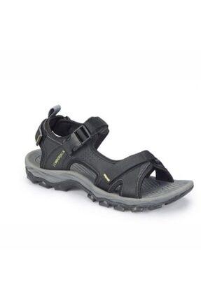Lumberjack Erkek Siyah Laggun Comfort Casual Outdoor Spor Sandaleti 0
