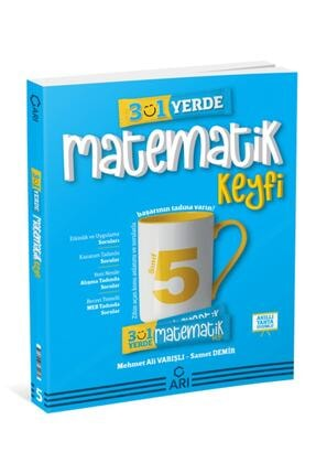 Arı Yayıncılık 5. Sınıf 3'ü 1 Yerde Matematik Keyfi 0