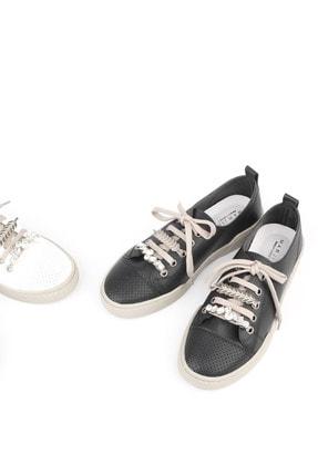 Marjin Kadın Siyah Sneaker Ayakkabı Dalis 2