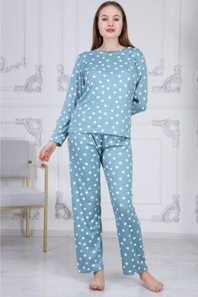 Comfylla Puantiyeli Termal Pijama Takımı 0