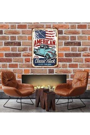 American Classic Thuck 30*45 Cm Retro Ahşap Tablo Tkfx52360 TKFX52360-XX