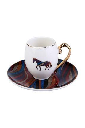 Karaca Cavallo 6 Kişilik Kahve Fincan Takımı 2
