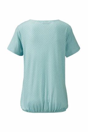 Tchibo Organik Pamuklu Bluz Su Yeşili 2