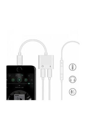 Ally Iphone 7,8 X ,10 Uyumlu Lightning , Kulaklık Ve Şarj Çevirici Dönüştürücü 2