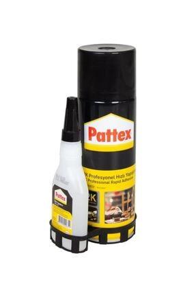 Pattex 2k Profesyonel Hızlı Yapıştırıcı (200-50 Gr) 0