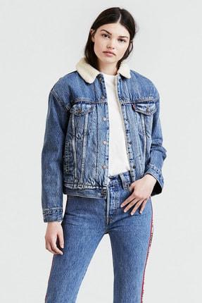 Levi's Kürklü Kadın Jeans Mont 0