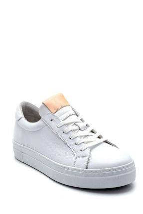 Derimod Kadın Beyaz Deri Sneaker 1