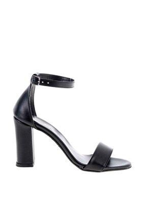 Bambi Siyah Kadın Klasik Topuklu Ayakkabı K01503741009 2