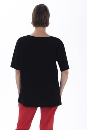 Christine Cotton Club Kadın Büyük Beden T-shirt 1